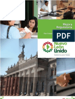 Programa Especial Mejora Regulatoria Doble Hoja)