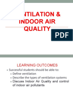 8. Ventilation and Indoor Air Quality