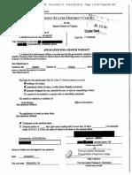 Manafort Storage Unit Search Warrant Applic and Affid