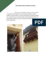 Arquitectura Antigua en El Distrito de Lircay