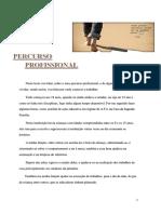 PERCURSO PROFISSIONAL