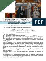 Hora Santa Con San Pedro Julián Eymard. El Espíritu de La Comunión (45)