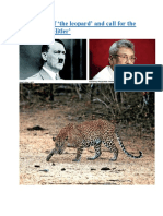 The killing of 'the leopard' and call for the return of 'a Hitler'.docx