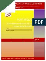 Formato de Portafolio II Unidad 2017 DSI II Enviar
