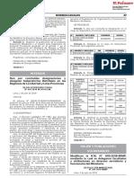 Dan por concluidas designaciones y designan Subprefectos Distritales en las Regiones de La Libertad y Lima Provincias