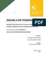 Paredes León Miriam - Ugarte Vargas Silvia
