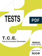 T.C.E - Manual