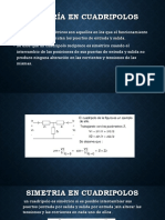 Simetria en Cuadripolos