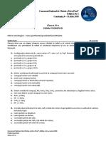 Subiecte Si Bareme Petru Poni Nationala CT 2018