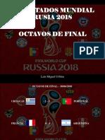 Luis Miguel Urbina - Resultados Mundial Rusia 2018, Octavos de Final
