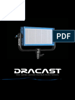 Dracast LED500 Pro Series Instruction Manual