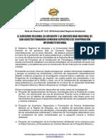 NOTA DE PRENSA N° 013  - FIRMA CONVENIO GRA-UNSA