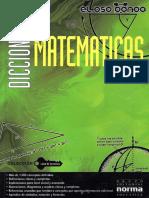 Diccionario de Matemáticas Norma - JPR504
