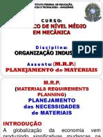 11 Planejamento Mrp