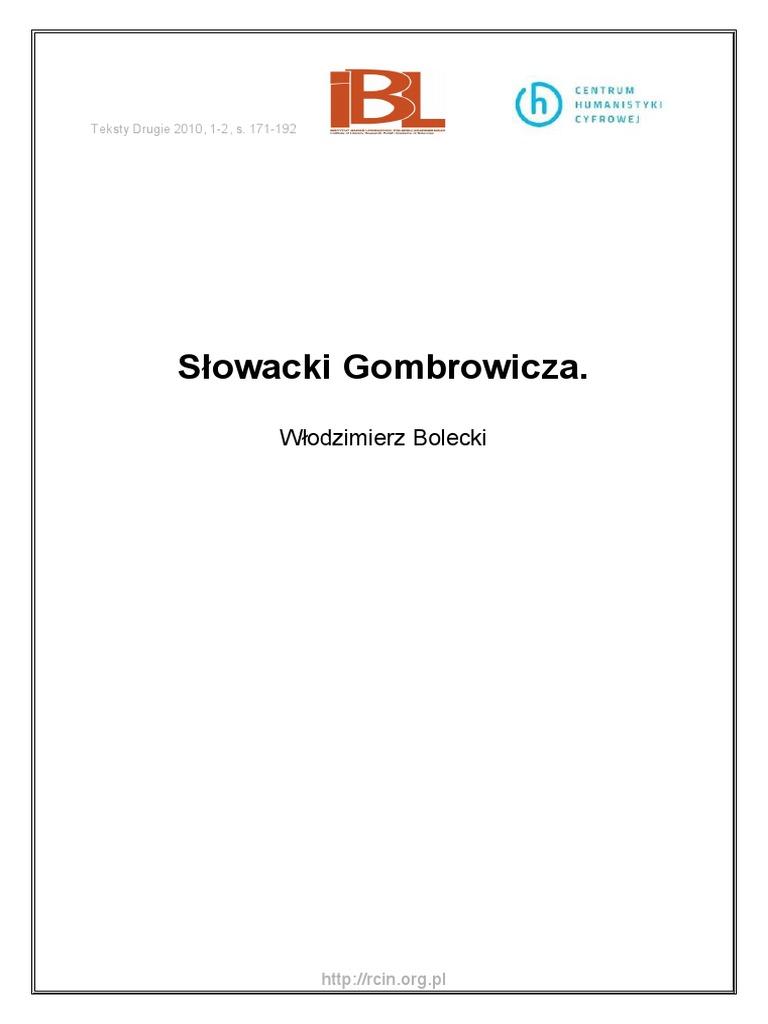 Wa248 66017 P I 2524 Bolecki Slowacki