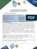 Syllabus Del Curso Gestión de Producción.