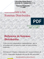 Introduccion a los Sistemas Distribuidos