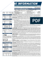 07.05.18 Game Notes