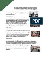 CONFLICTO ELABORAL, Agrario, Politico, Etnico
