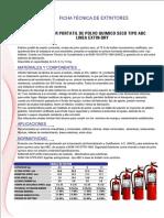 Ficha T Cnica Extintor ABC 4 Kg