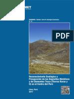 Boletín 47-B Reconocimiento Geológico y Prospección de Los Depósitos Metálicos y de Elementos Traza