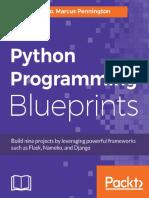 Python Programming Blueprints