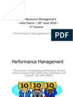 Human Resources Management-John Deere-28th June 2010-Session 5