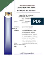 Investigacion de Mercardos- MONO