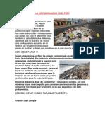 La Contaminacion en El Perú Juan