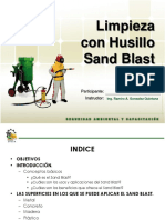 Husillo Sandblast - Sacsa