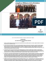 Estos Son Los Cómplices Militares de La Dictadura Chavista por Joaquín F. Chaffardet R.