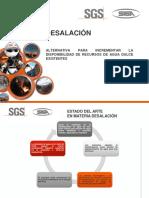 Eficiencia energética en proyectos de desalinización.
