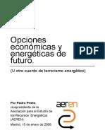Opciones Economicas y Energeticas de Futuro
