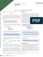 A comparison of random and periodic marine simultaneous-source encoding