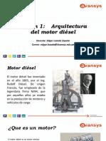 Sesión 1-Arquitectura Del Motor Diésel