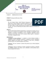 Denver S-043 Immigration Status -April 2018