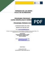 Programa Urologia Medicina Uniandes 2018