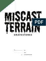 MiscastTerrain Gravestones v01 A4