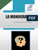 La Monografia (2) 2018-1