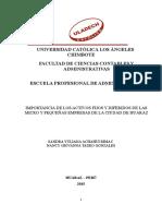 Modelo Monografía Investigación Documental Contabilidad II