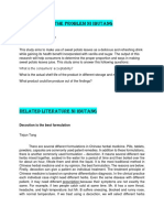 Statement of Purpose & Related Literature