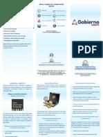 Brochure de Gobierno Abierto