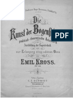 Emil Kroos the Technique of Bow