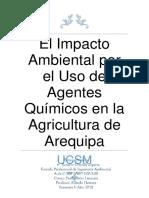 El Impacto Ambiental Por El Uso de Agentes Químicos en La Agricultura de Arequipa