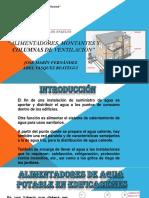 Alimentadores, Montantes y Columnas de Ventilación - Diapositiva