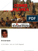 ltte disappearance white flag killings srilanka