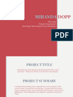 Miranda Dopp Project Presentation