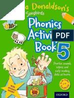 5 Donaldson Julia Phonics Activity Book 5