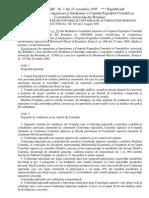 Regulament de Organizare Si Function Are CECCAR