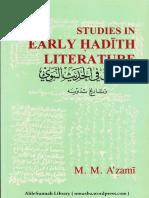 Studies In Early Hadith Literature By Shaykh Muhammad Mustafa Al Azami.pdf